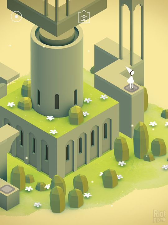 Monument Valley - game screenshots at Riot Pixels, images