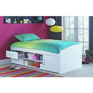 Buy Yanniek Cabin Bed Frame - White at Argos.co.uk, visit Argos.co.uk to shop online for Children's beds, Children's beds