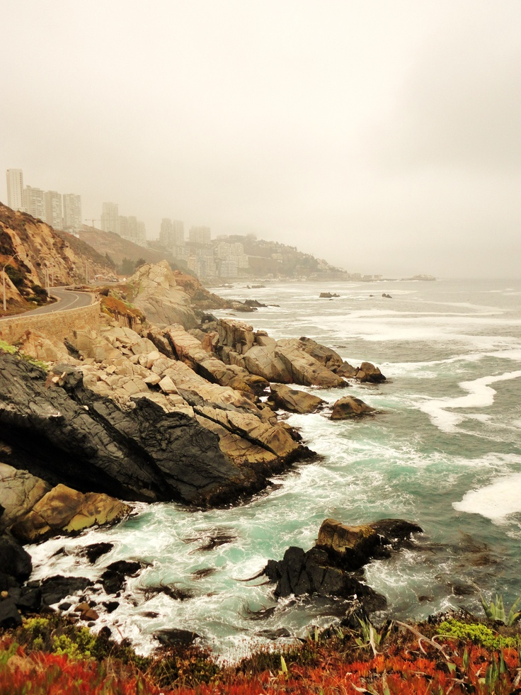 My grandmother has an apartment close to heere in Vina del Mar, Chile