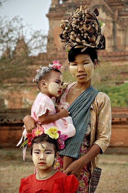 Myanmar Mother & children http://haveheartdaily.com/baby--toddler.html