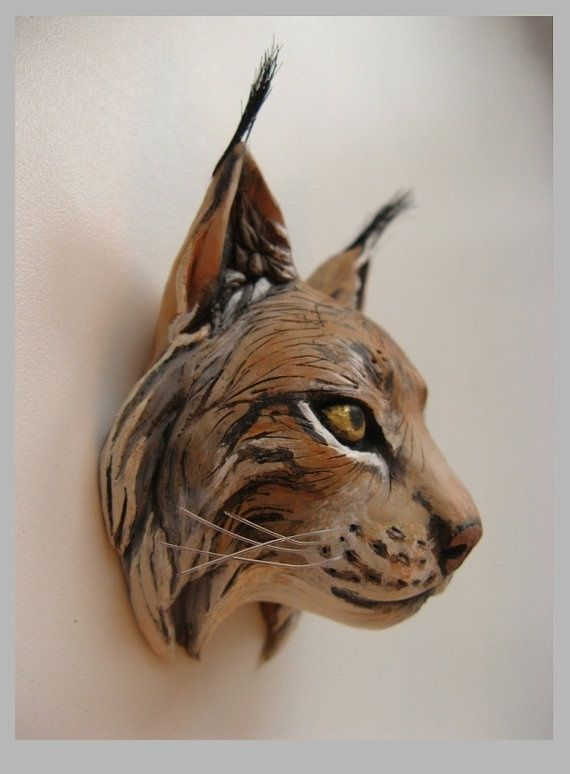 Best clay animal masks heads images on pinterest