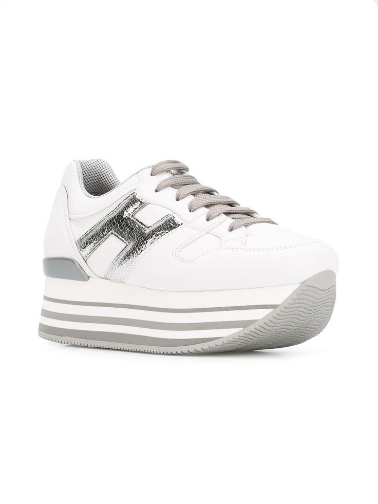 Womens Sneaker Trainers, White Stokton