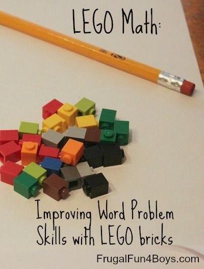 Great for our students with autism. Let's face it, all kids love lego, it's taking over the World! So, here's some info on the activity with lego. It's all about simplifying the word problem down a bit, making it more understandable for the kiddos and helping to keep them engaged. Read more at: http://teaching-autism.blogspot.com/2016/01/math-tip-monday-ideas-for-teaching-word.html