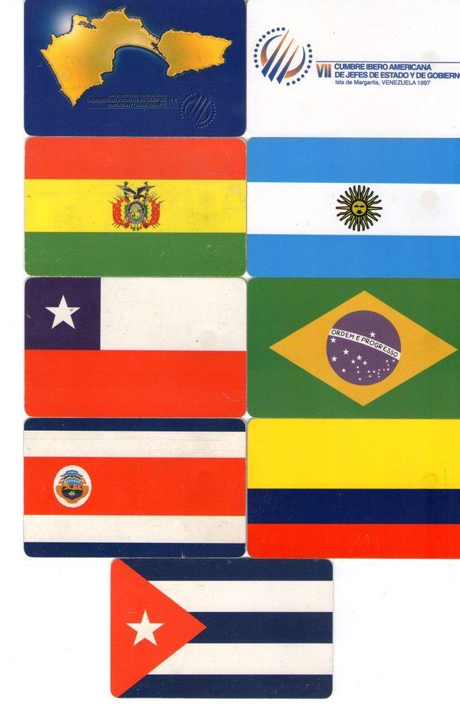 23 Phonecard / Tarjeta Telefonicas Venezuela  VII Cumbre Iberoamericana