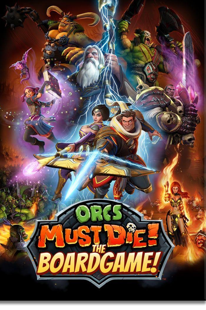 Orcs Must Die! The Boardgame by Sandy Petersen — Kickstarter