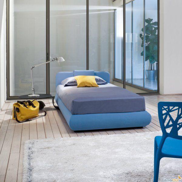 9 melhores imagens de camas individuais no pinterest for Mobilia letti contenitore