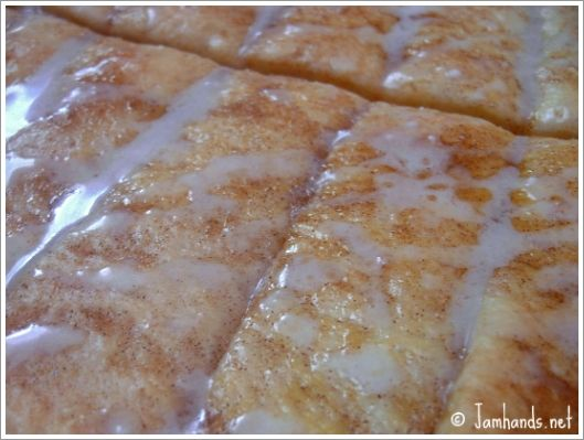 Cinnasticks Copycat (aka Cinnamon Sticks)  Make Pamela's gluten free dough then follow recipe: