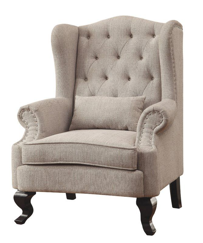 Enitiallab Mareena Wingback Chair Reviews Wayfair Wingback Chair Furniture Tufted Accent Chair