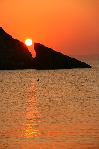 Sunrise. Chios island, Greece. - Selected by www.oiamansion.com
