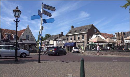 Het centrum van Renesse Zeeland. #Renesse #Zeeland