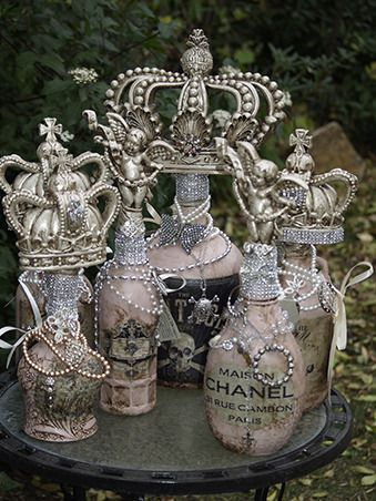 Michelle Butler Designs Decorative Bottles
