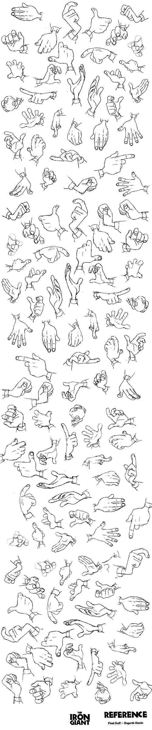 Character Anatomy Hands_4 (500x2389)