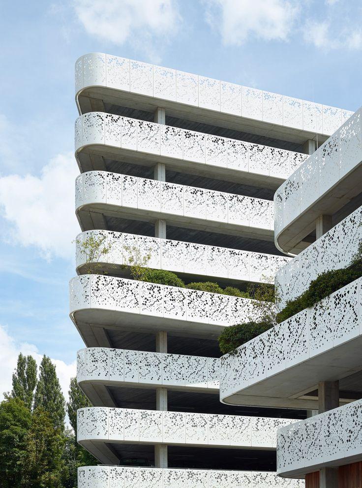 Abscis Architecten - Uitwaaiering  plateau – fotografie Dennis De Smet