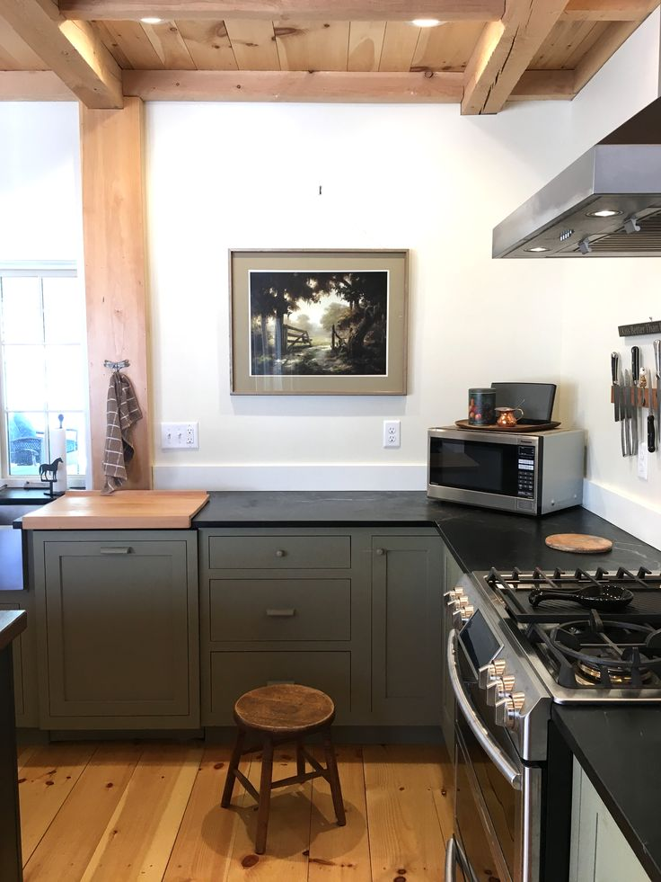 62 best my home tour images on pinterest on farmhouse kitchen no upper cabinets id=23268