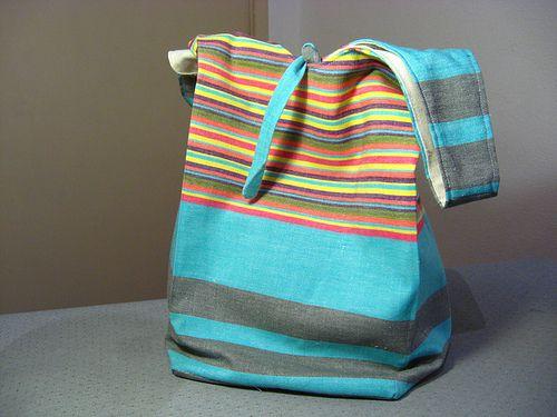 Tutorial para fazer ecobag de tecido.Eco Bags, 4กระเปา, 4กระเป า, Bags Purses, Bags Please, Comofaz, Compras Ecológicas, Bags, Bags Etc