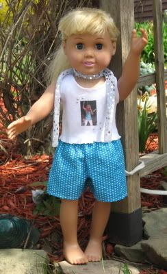 Free Basic Shorts Pattern for American Girl Doll