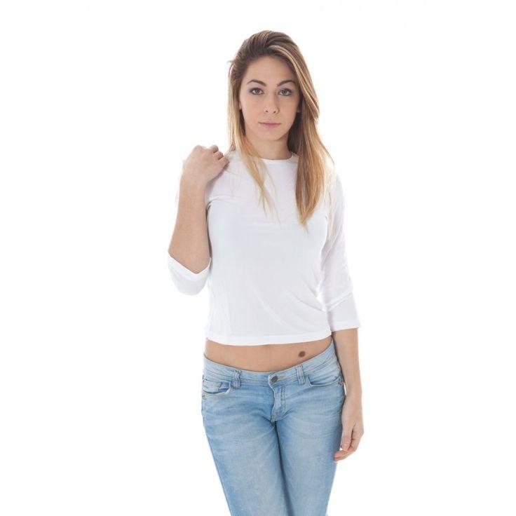 Calvin Klein Naisten valkoinen t-paita