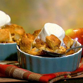 the chew | Mario Batali - Holiday Apple Brown Betty (includes biscuit recipe)