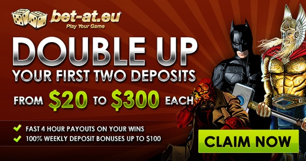 Bet-At.eu Casino Bonus Offer
