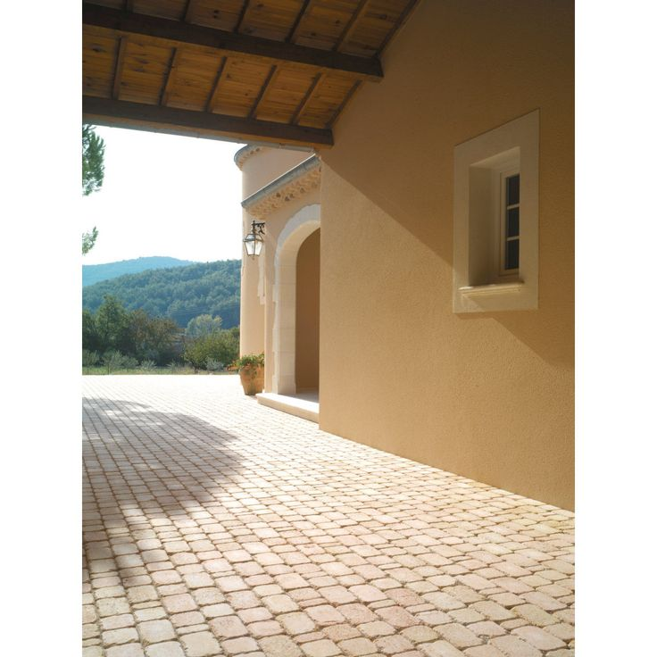 Pav delaje multiformat 12x6 12x12 et 12x18cm paisseur for Pave decoration exterieur
