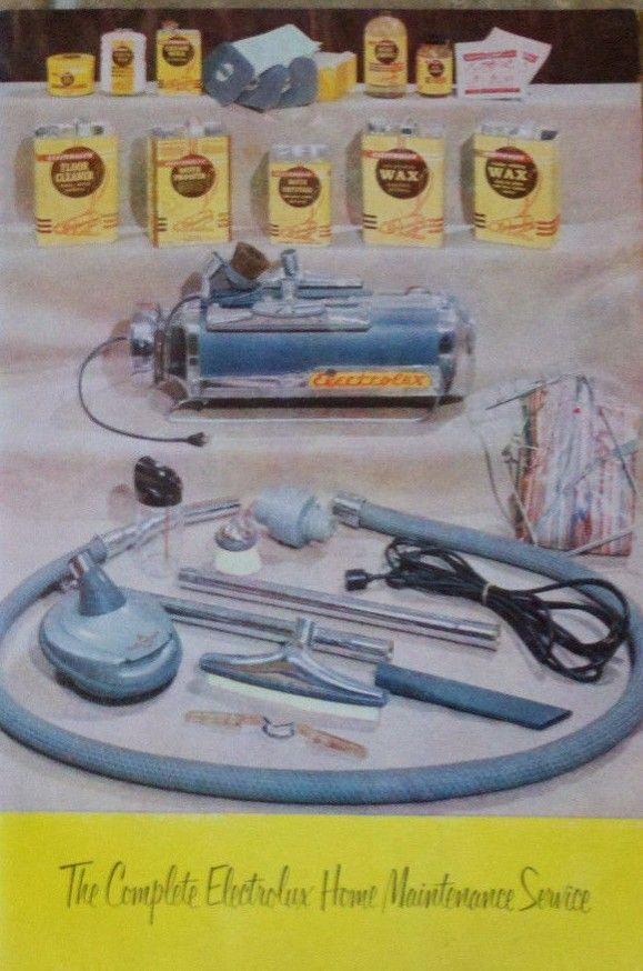 Electrolux Vacuum 1952