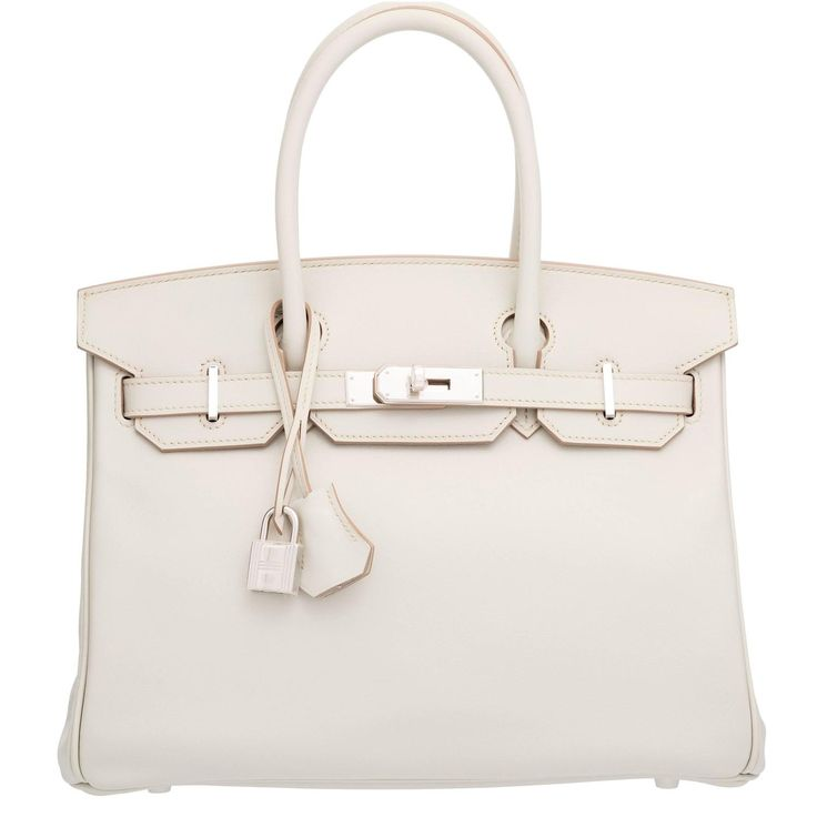 replica hermes birkin bag - Hermes 30cm Gris Perle Swift Leather Birkin Bag with Palladium ...