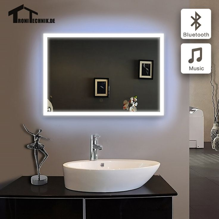 Luxury xcm ILLUMINATED Bathroom mirror bath mirror in bathroom Bluetooth LED piegel badkamer GLASS MIRROR Wall IP