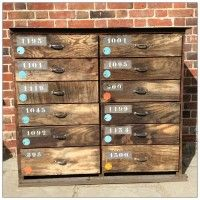 NEW | French Industrial Factory Drawers | mayflyvintage.co.uk | Warehouse Home Design Magazine