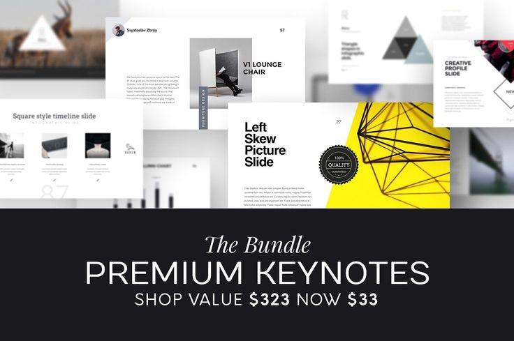Bundle with 12 Top-Seller presentations and 1200+ slides for $33 + 5 products for FREE! https://buff.ly/2j3KLc0?utm_content=buffer5bc44&utm_medium=social&utm_source=pinterest.com&utm_campaign=buffer --- #keynote #presentation