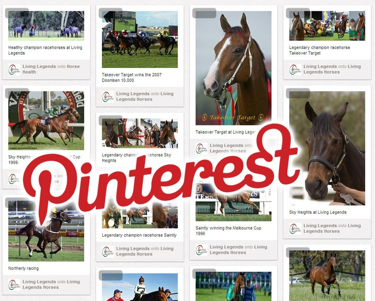 Living Legends is now active on Pinterest