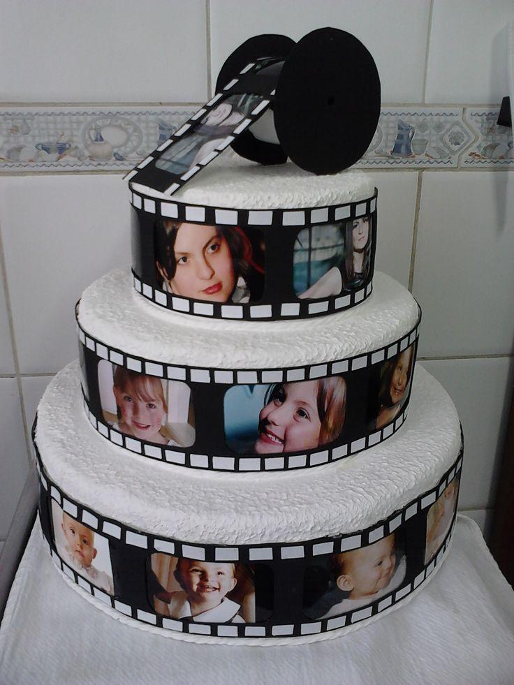 Cake Cine Cine Tartas Pastel De Tortilla Tartas Fondant