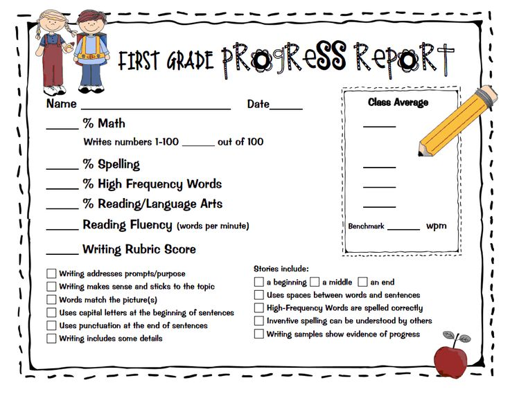 14 best Progress Reports images on Pinterest Classroom ideas - sample progress report