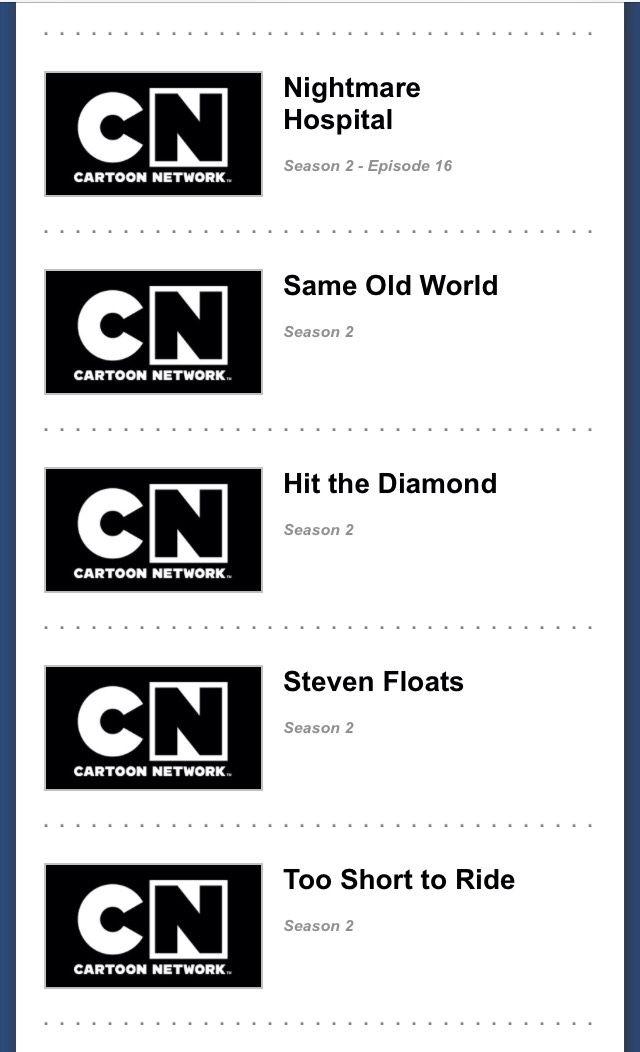 Bringer of good news! 2.0, Upcoming Steven Universe episode titles for season...