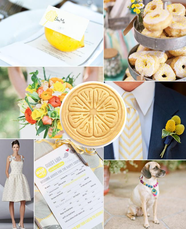 What Your Favorite Girl Scout Cookie Says About Your Wedding Style | Photo by: Clockwise from top left: Mike Larson Photography; L Photographie; Sabine Scherer Photography; Aaron Delesie; Laura's Focus Photography; Carolina Herrera; Aaron Young Photography | TheKnot.com