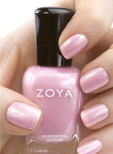 Zoya Pink Nail Polish | www.ScarlettAvery.com