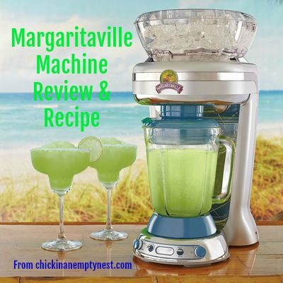 Entertaining in your empty nest takes on a whole new meaning with a Margaritaville Machine. Read my review and see Phillip's secret Strawberry Daiquiri recipe today at Chick in an Empty Nest!