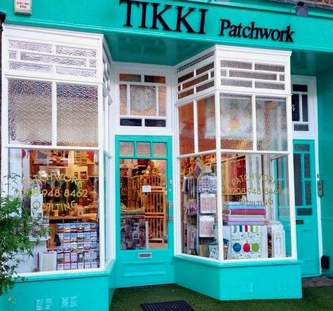 Tikki quilt & patchwork fabric shop in London UK. We also ...