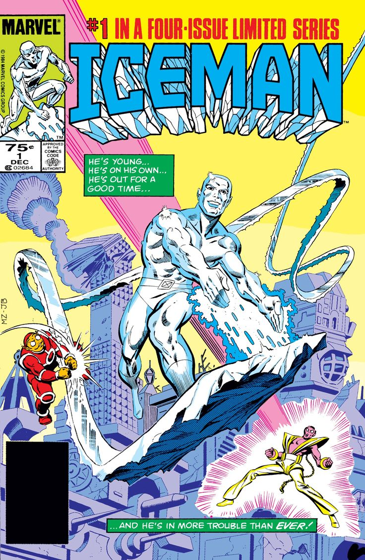 Iceman  1  U0026quot The Fuse  U0026quot   December  1984
