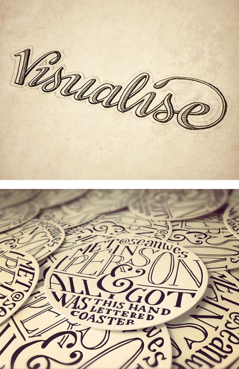 typeverything.com, Hand Lettering by Sean McCabe