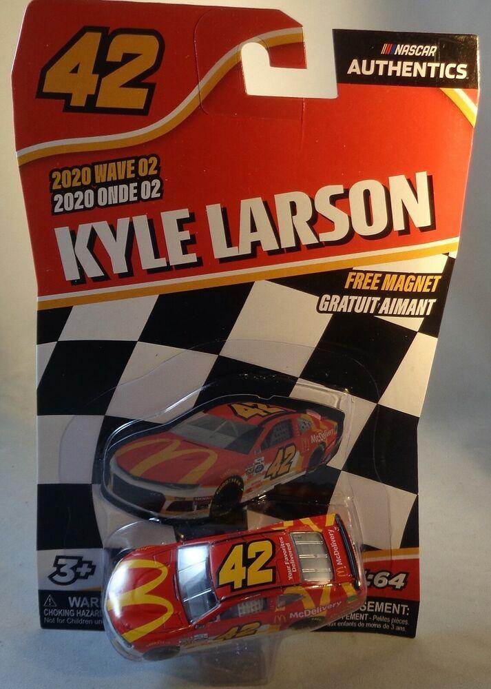 2020 Wave 02 Kyle Larson 42 Mcdonalds 1 64 Nascar Authentics Camaro Lionel Chevrolet Mcdonalds Kyle Larson Nascar Diecast