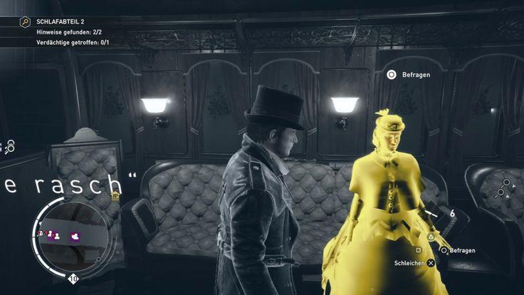 """Plattform: Playstation 4 Pro  Gespielt wird in Assassin's Creed Syndicate die Groschenroman-Verbrechen """"Nächster Halt: Mord!""""."""