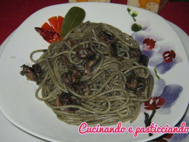 Cucinando e Pasticciando: Spaghetti al nero di seppia