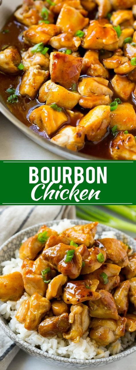 Bourbon Chicken   Sauteed Chicken   Chicken Stir Fry   Easy Chicken Recipe