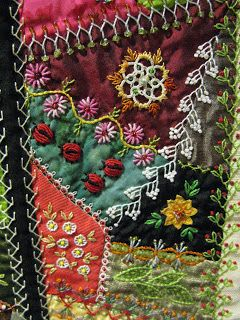 Quilting Blog - Cactus Needle Quilts, Fabric and More: Little Darlings Crazy Quilt