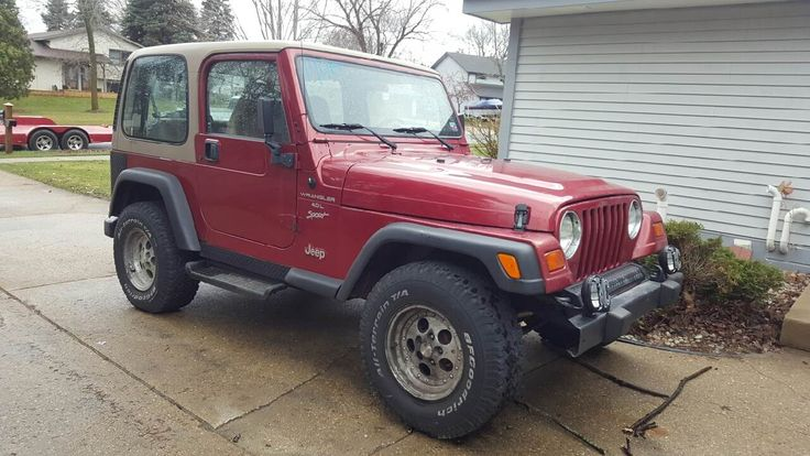 This 1999 Jeep Wrangler Sport is listed on