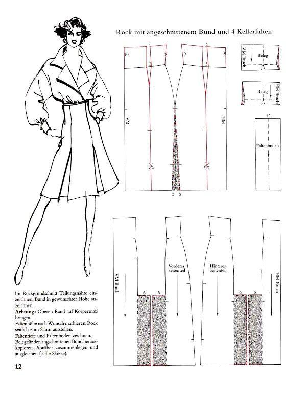 Systemschnitt 01 - elisa - Picasa Web Albums (high waist skirt pattern)