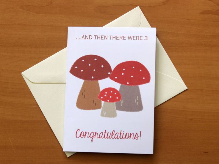 New Baby Card for Fathers, Card for new Father, Card for New Dad, Card for New Mother, Congratulations New Baby Girl Boy Card, Woodland Baby by PaperColada on Etsy