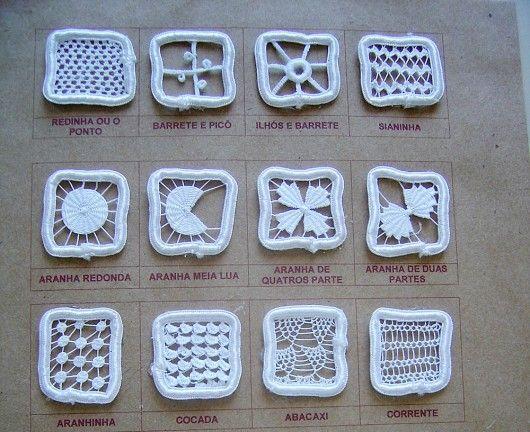Needlelace patterns (can be used for RPL filling stitches)