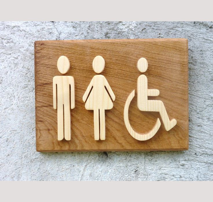 pictogramme wc handicapé #wc #handicape #decomood