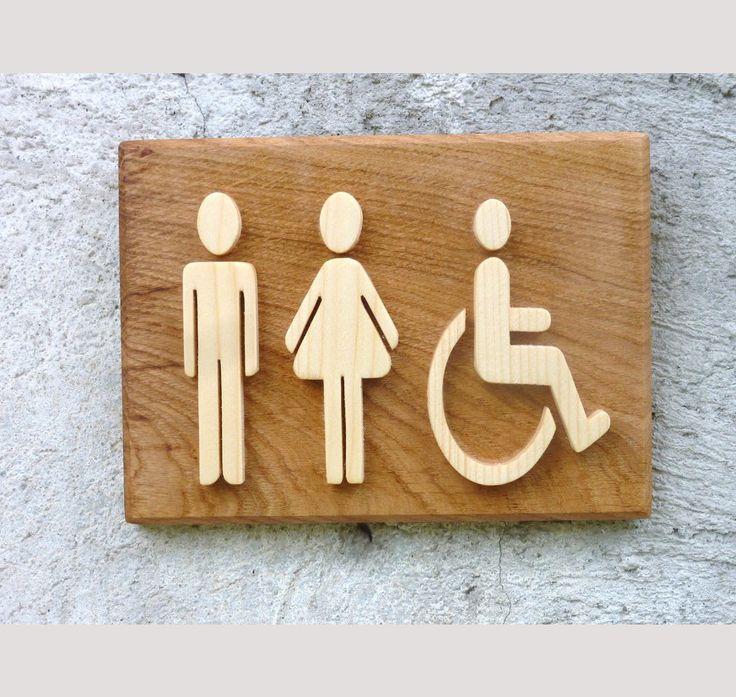 pictogramme wc handicapé #wc #handicape #decomood